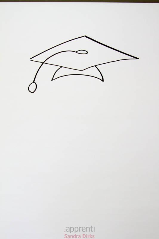 Doktorhüte zeichnen 4