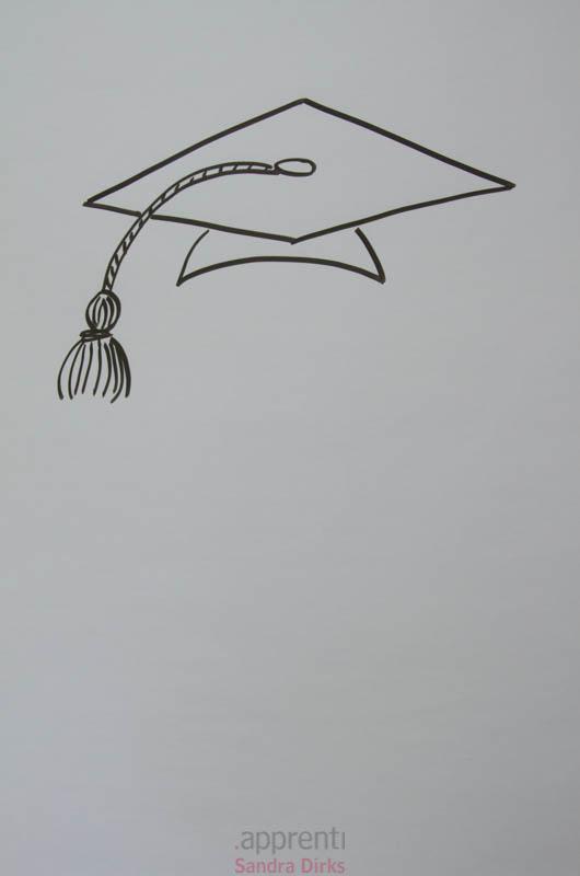 Doktorhüte zeichnen 6
