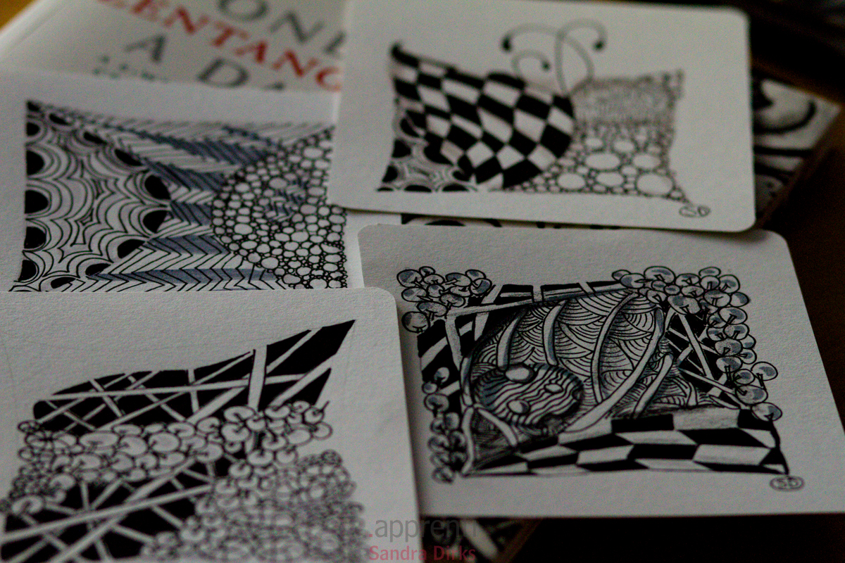 One Zentangle a day 5