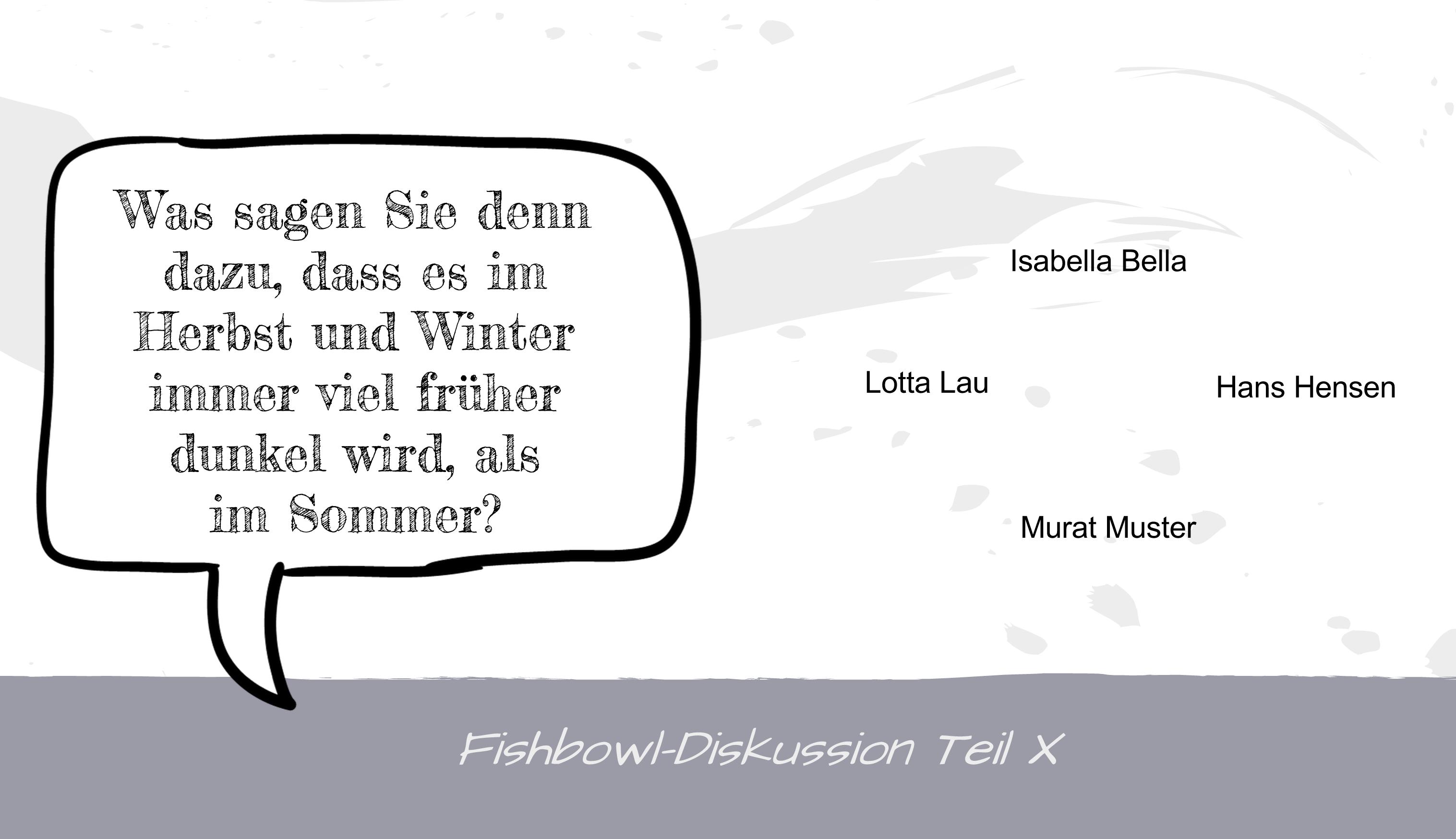 Freiwillie 1. Runde im Webinar Fishbowl