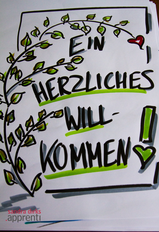 Flipchart Friday: Herzliches Grün 2
