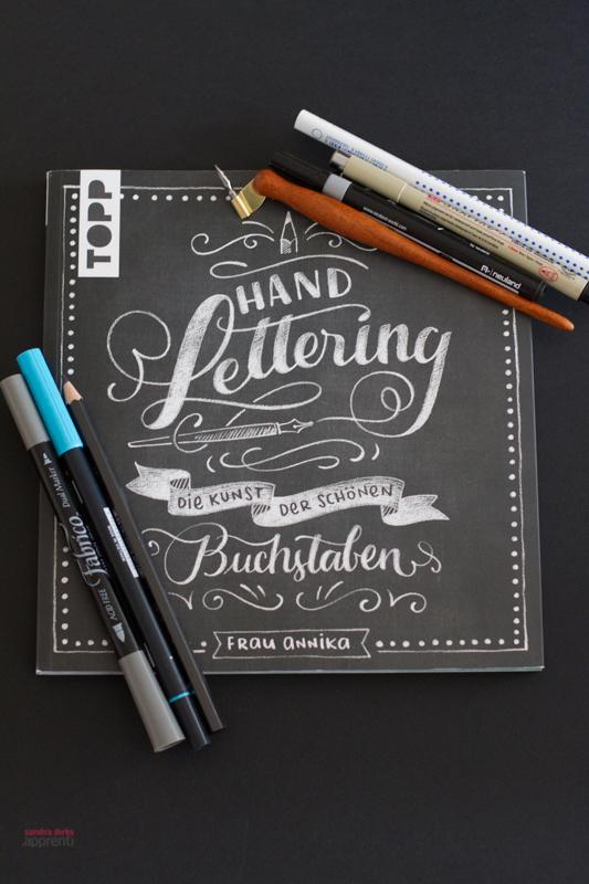 Rezension: HANDLETTERING - die Kunst der schönen Buchstaben von Frau Annika 2